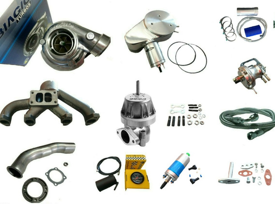 Kit Turbo Completo Ap Carburado Biagio Turbos + Bomba
