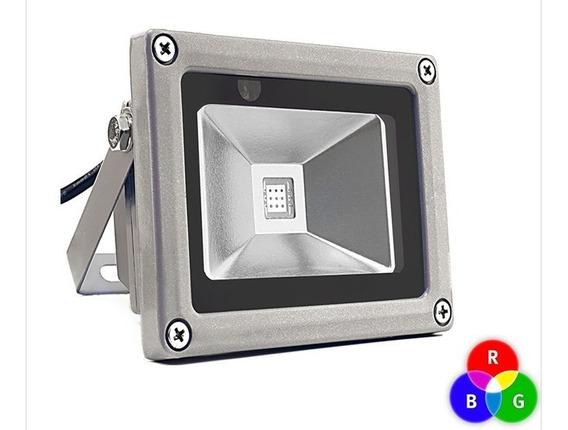 Reflector Led 20w Rgb Ultra Delgado Ip65 Moderno Ahorrador
