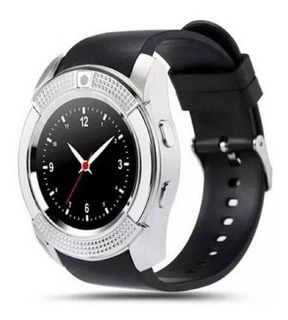 Relogio Smartwatch Pulseira Inteligente Display Redondo V8