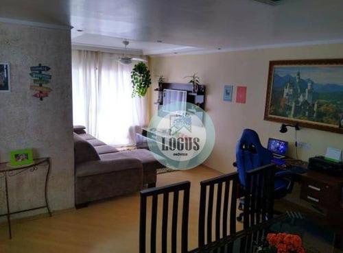 Imagem 1 de 16 de Apartamento Com 2 Dormitórios À Venda, 90 M² Por R$ 360.000,00 - Jardim Orlandina - São Bernardo Do Campo/sp - Ap1733