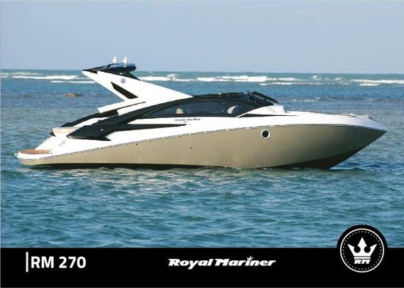 Royal Mariner 270 Com Motor 0km Direto De Fábrica