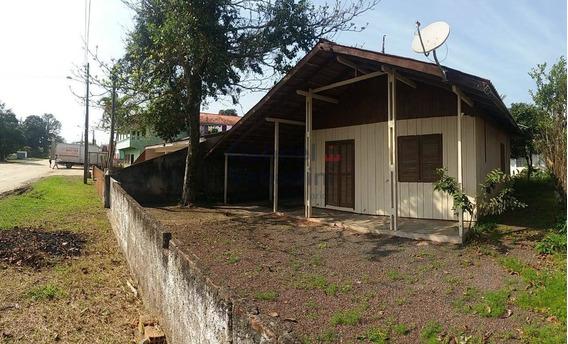Casa Com 5 Dormitórios R$140.000,00 -barra Do Saí-itapoá-sc