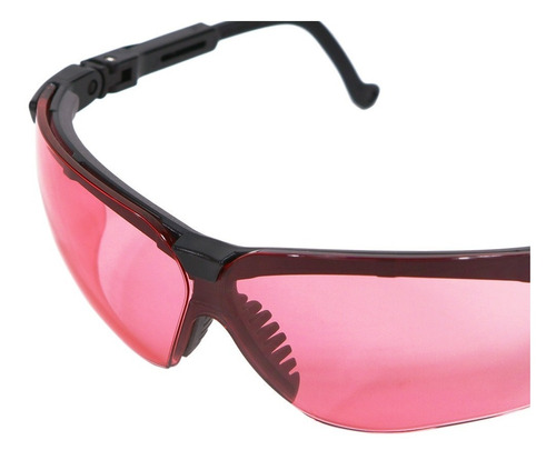 Óculos Uvex Genesis Proteção Balístico Honeywell - Vermilion