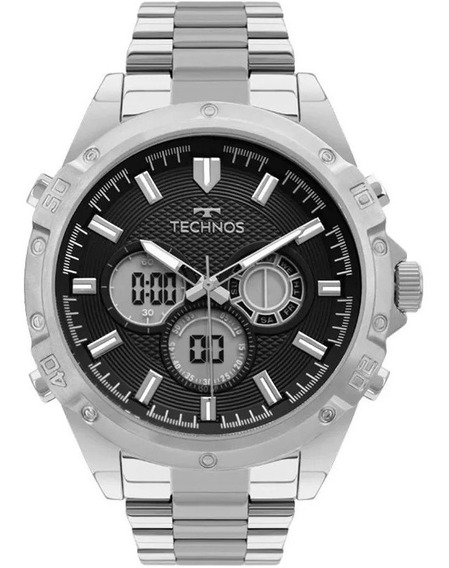 Relógio Technos Masculino Mod Bj3814aa/1p Digi/ana