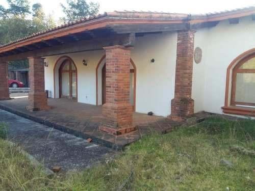 Venta Casa Campo En Edo De Mex. Sta Ma Chapa De Mota 11.2has