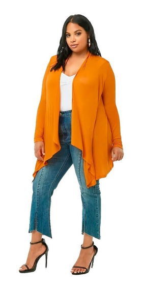 Capa Cardigan Draped Forever 21 Plus Size 3x