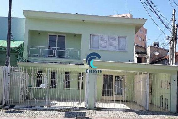 Casa Comercial Com 08 Salas Para Alugar, 357 M² Por R$ 3.500/mês - Centro - São José Dos Campos/sp - Ca0516