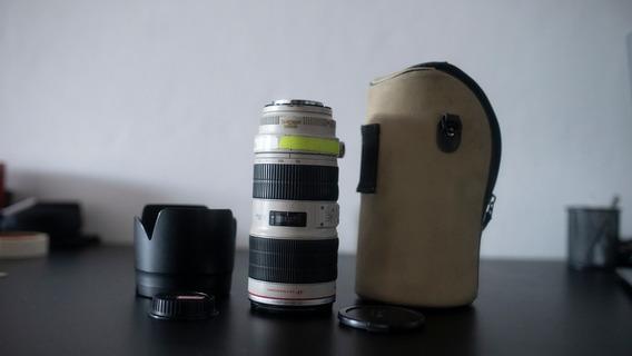 Lente Canon 70-200 Li F/2.8l Is (com Estabilizador)