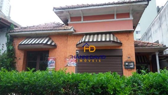 Excelente Casa Comercial À Venda Na Vila Mariana - Terreno 430m² / 650 M² De Area Construída - Localização Privilegiada - Ca0225
