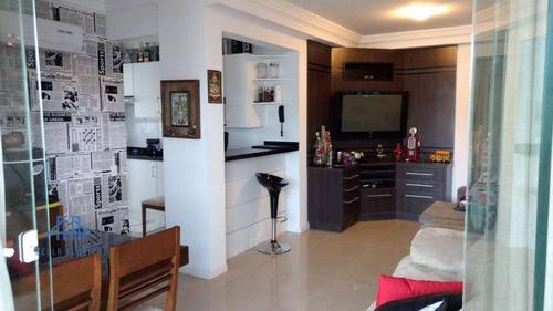 Imagem 1 de 27 de Apartamento Com 3 Dormitórios À Venda, 80 M² Por R$ 581.800,00 - Coqueiros - Florianópolis/sc - Ap1829
