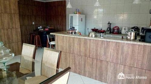 Casa Com 3 Dormitórios À Venda, 220 M² Por R$ 480.000,00 - José Alexandre - Botelhos/mg - Ca1099