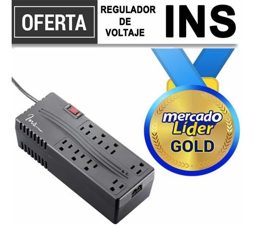 Imagen 1 de 4 de Regulador Voltaje Ins / Altek 2000va 8 Tomas  Precio Inc Iva
