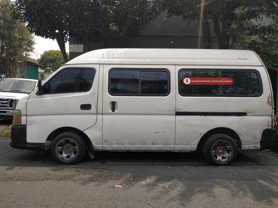 Nissan Urvan 2007 Buenas Condiciones Funcional Solo $ 83000