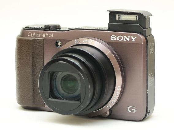 Sony Hx30v Wifi Gps 20x C/detalhes = Nikon Canon Alpha Fuji