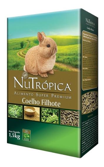 Ração Nutrópica Coelho Filhote - 1,5 Kg