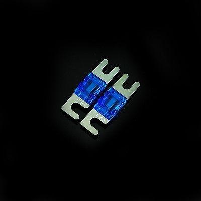 Imagen 1 de 2 de 2pcs Níquel Plateado Coche Audio Afs Anl Mini Fusible Auto P