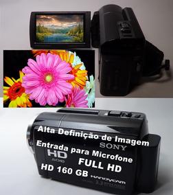 Filmadora Sony Hdr-xr160 Com Entrada De Microfone