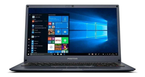"Notebook - Positivo Q464b Atom X5-z8350 1.92ghz 4gb 64gb Híbrido Intel Hd Graphics Windows 10 Home Motion Plus 14"" Polegadas"