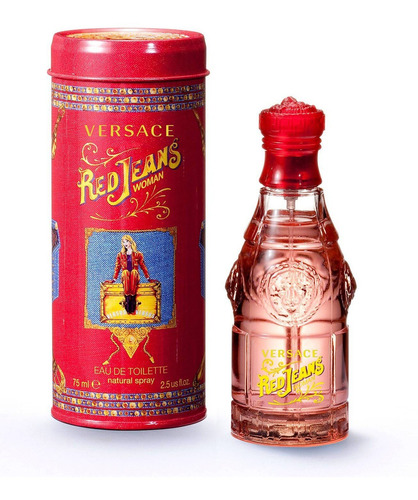 Perfume Red Jeans Versace Dama Original 75 Ml