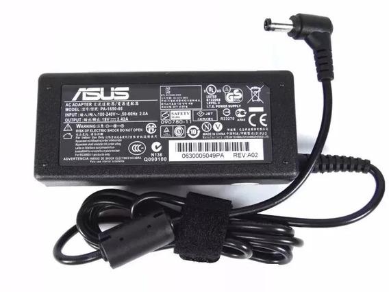 Fonte Carregador Notebook Asus X451c X551 19v 3,42a Original