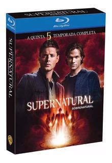 Blu Ray Supernatural - 5ª Temporada - Dub/leg,