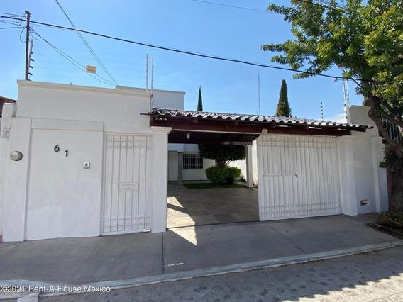 Casa En Renta En Alamos 3era Seccion, Queretaro, Rah-mx-21-2971