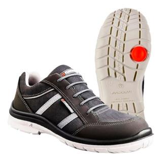 Zapatillas Seguridad Funcional Ultraliviana Soul Gris Nº38