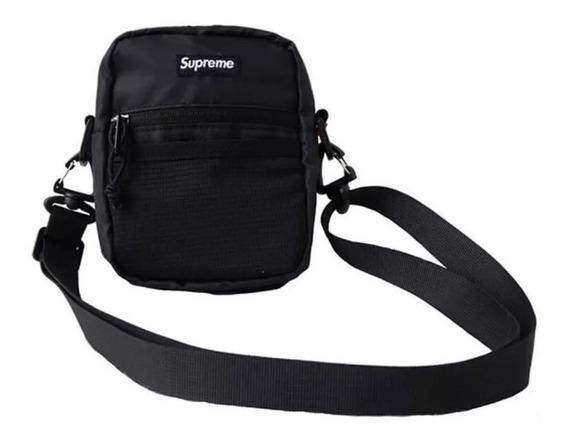 Shoulder Bag Supreme Ss17 Adesivo Gratis - Etiqueta Bordada