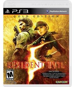Resident Evil 5 Gold Edition - Mídia Física / Ps3