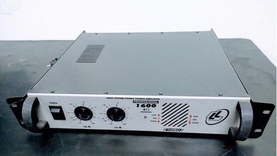 Amplificador Ll Pro-1600 Turbo Profissional