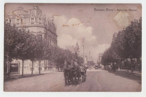 Buenos Aires Postal Antigua Avenida Alvear