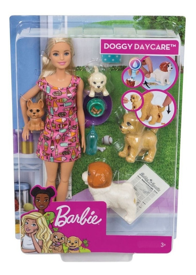 Boneca Barbie Treinadora De Cachorrinhos Fxh08 - Mattel