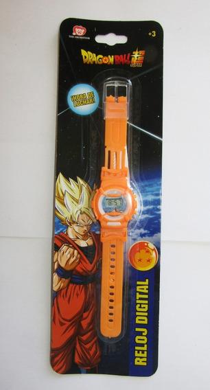 Reloj Digital Para Niños Dragon Ball Marca Toei Animation