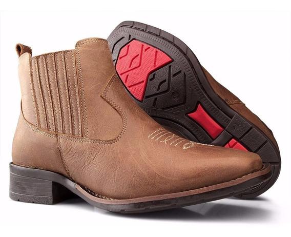 Bota Feminina Country Texana Montaria Botina - Capelli Boots