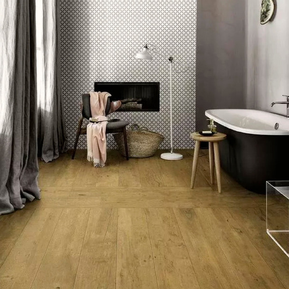 Porcelanato Rosetto Honey Simil Madera 20x87