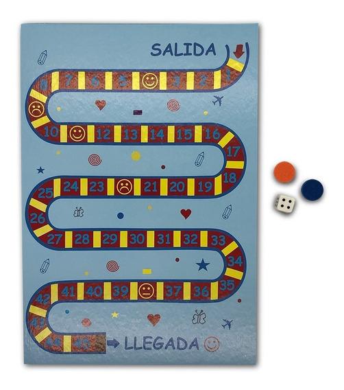 Juego De Recorrido - Didáctico -juego De La Oca