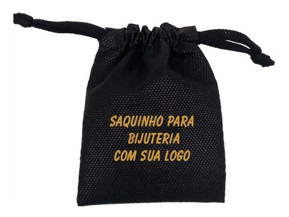 1000 Saquinhos Para Bijuterias Joias C/ Sua Logo 8x12cm