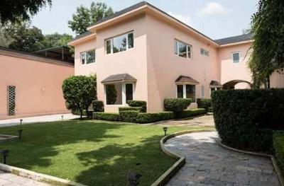 Espectacular Casa En Renta O Venta Lomas De Chapultepec Cdmx