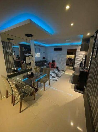 Imagem 1 de 30 de Casa Com 2 Dormitórios À Venda, 80 M² Por R$ 298.000 - Santa Cruz - Gravataí/rs - Ca1382