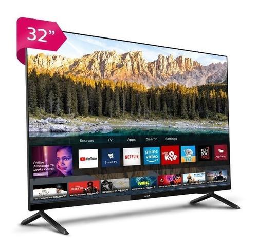 Imagen 1 de 4 de Philips Led 32 Hd Smart Tv