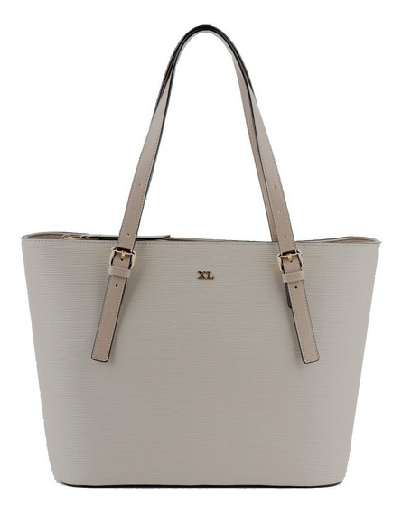 Tote Mujer Xl Extra Large Susan Taupe