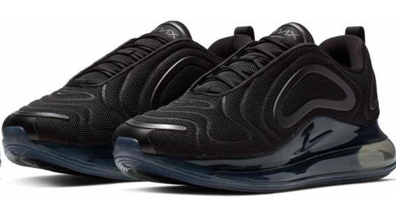 Zapatillas Nike Air Max 720 Black Originales Talle 11 (usa)
