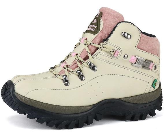 Tênis Coturno Feminino Boot Adventure Infantil E Adulto