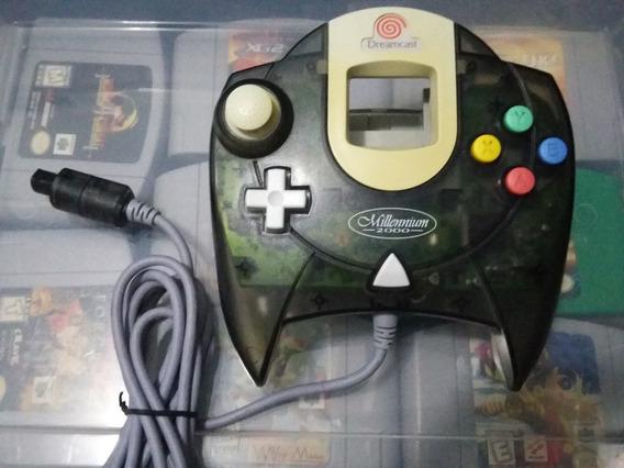 Controle Transparente/translúcido Original - Sega Dreamcast