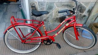 Bicicleta De Paseo Dama Rodado 24 Exelente Estado!!!!