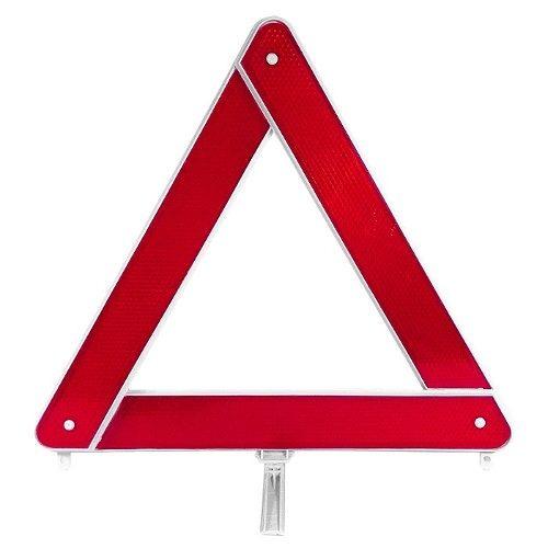 Triangulo Advertencia Base Branca