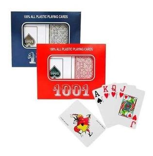 6 Jogo Baralho Copag 1001 Duplo Plástico 110 Cartas Oferta.