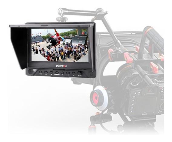 Monitor Lcd Para Dslr / Filmadoras Sdi Hdmi 7 Polegadas