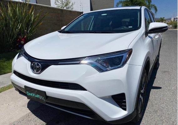 Toyota Rav4 Blanca 2016 Xle 4wd Automática Quemacocos Piel
