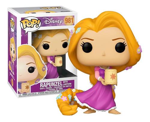 Boneco Funko Pop Rapunzel C Lanterna 981 - Disney Original